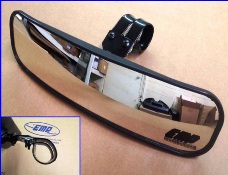 13 Quot Wide Panoramic Rear View Mirror For 2 Quot Bars