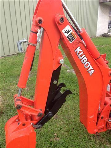 Kubota Bx25d Tractor Mechanical Backhoe Thumb