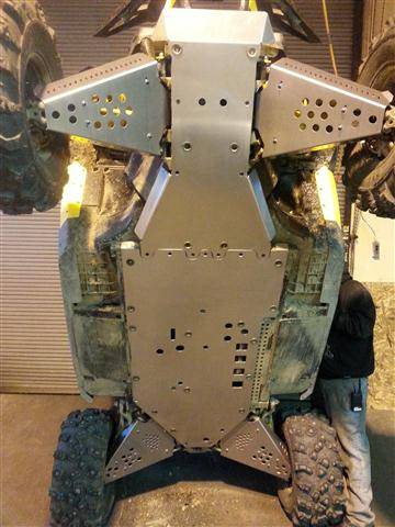 Can Am 1000 >> Can-Am Maverick Belly Skid Plates