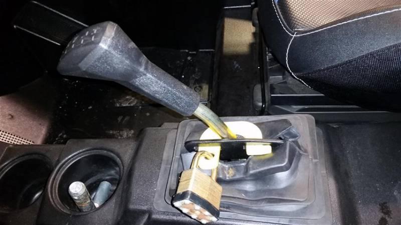 Rzr Anti Theft Shift Lock For 2015 18 Rzr 900 2016 18 Rzr