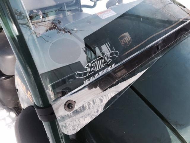 kawasaki mule 610 windshield (hard coated polycarbonate)