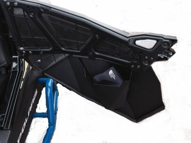 Rzr Lower Door Panels Aluminum With Inner Storage Pockets