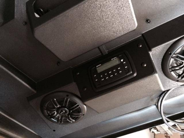Quot Cooter Brown Quot Rzr Top And Stereo Combo Fits Xp1k 2016