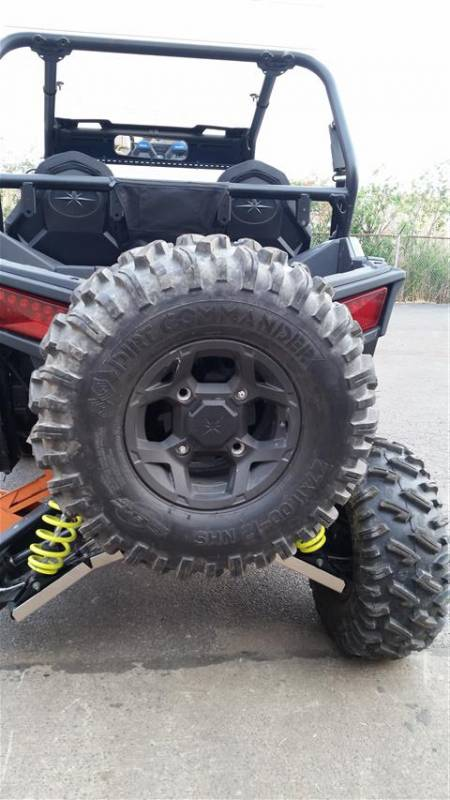 Rzr 900 Rear Spare Tire Rack