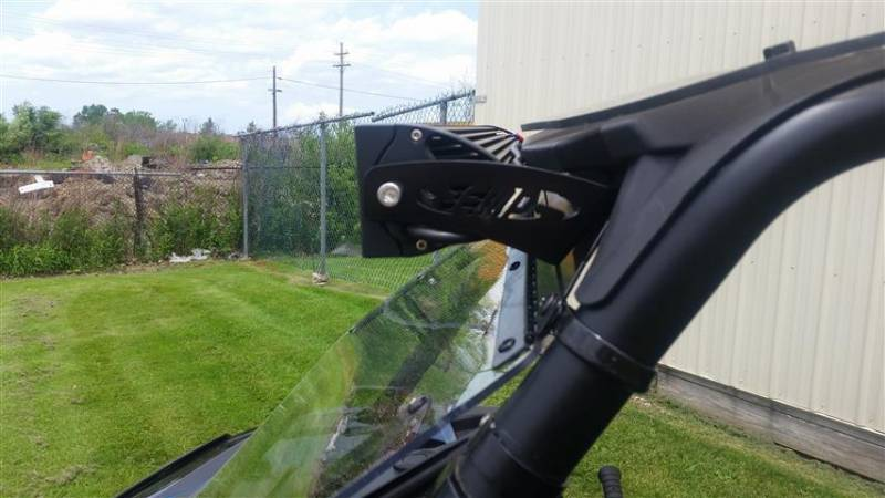RZR/General Forward Mount LED Light Bracket Set
