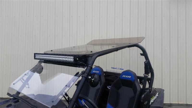 Rzr General Forward Mount Led Light Bracket Set