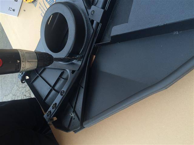 Rzr Ace Door Speaker Pod Set