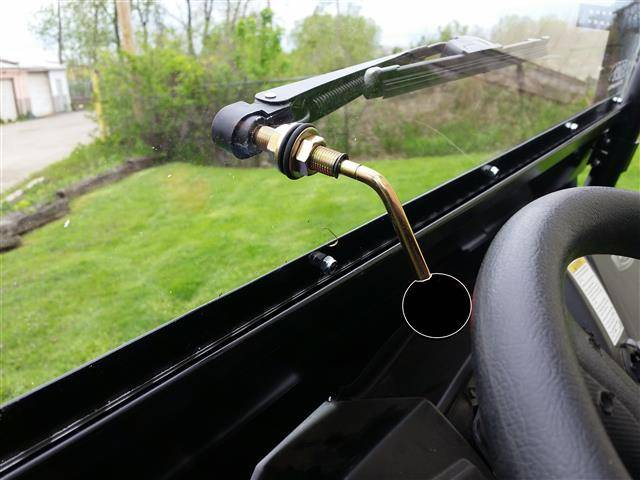 John Deere Utv >> Hand Operated UTV Wiper for Hard Coated Poly Windshields Only
