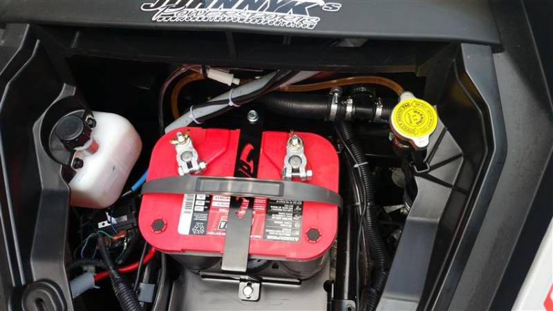 Field Full Size Battery Box : Can am maverick ds turbo full size battery tray