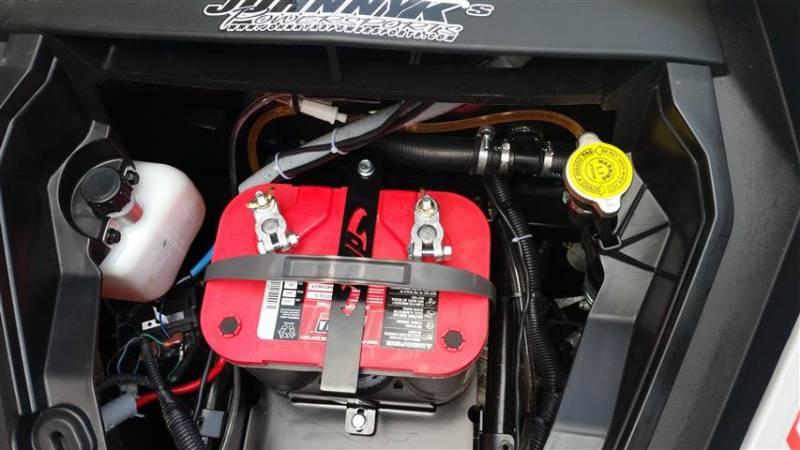 Can Am Maverick X Ds Turbo Full Size Battery Tray