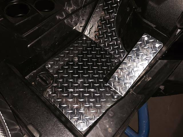 Rzr 900 Diamond Plate Floor Boards