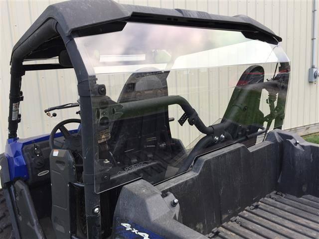 Rear Windshield Honda Pioneer 500 2016 to 2019 Rear Hard Window Dust Shield