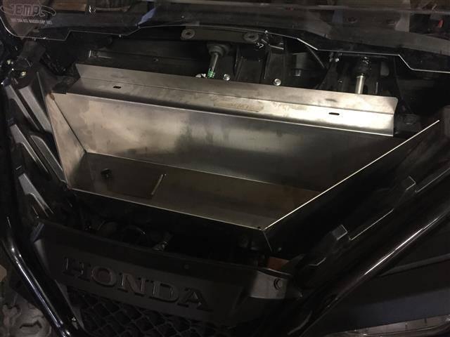 Pioneer 500 Under Hood Storage Compartment