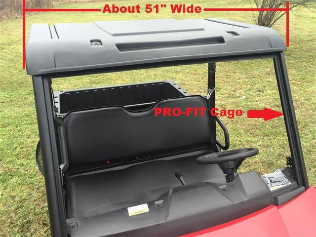 Mid Size Ranger Polyethylene Top Fits Pro Fit Cage 50
