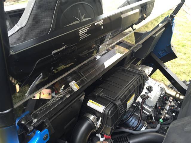 Polaris General Cab Back Dust Stopper
