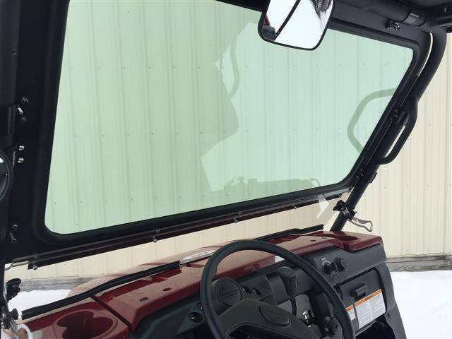 kawasaki mule 4010 laminated glass windshield