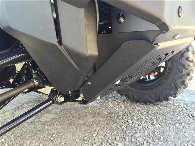 Pioneer 1000 Front Bumper Brushguard With Winch Mount