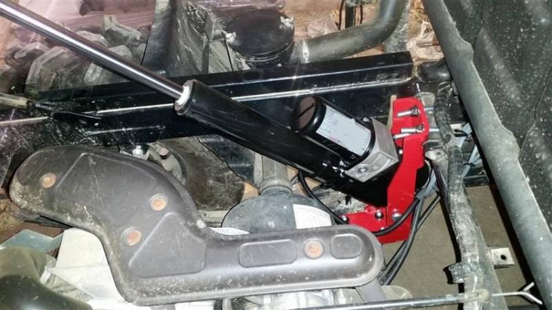 Kawasaki Mule Power Dump