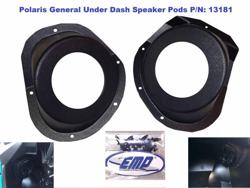 John Deere Gator >> Polaris General Under-Dash Speaker Pods (Speakers Not ...