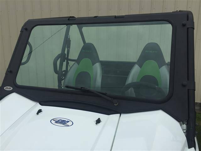 2016-17 kawasaki teryx laminated glass windshield