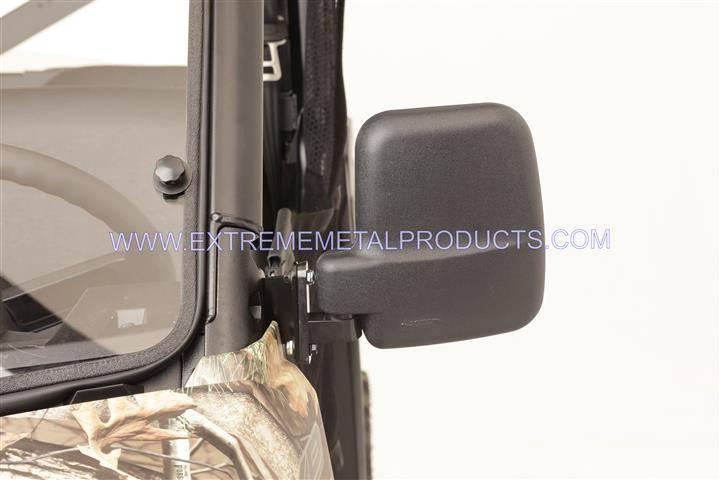 Ranger Xp 1000 >> Polaris Ranger Folding Mirror set for the PRO-FIT Cage (non-round cage)
