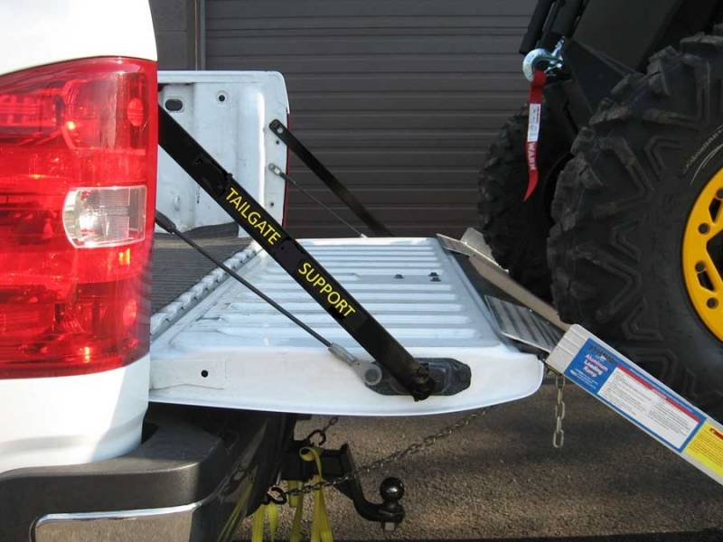 Full Size Truck Tailgate Support For Utv S And Atv S