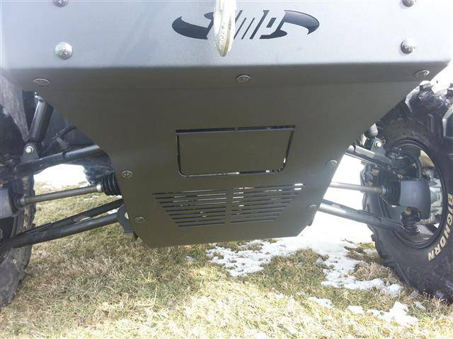 pioneer  front bumper brush guard  winch mount