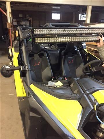 John Deere Gator >> Can-AM Maverick X3 LED Light Bar Bracket Set