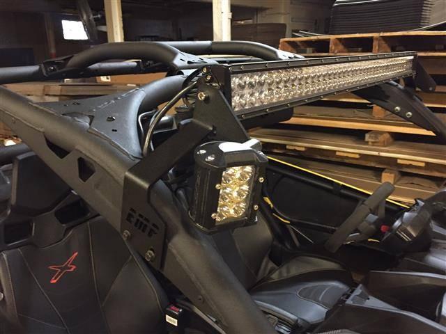 Can Am Xmr 1000 >> Can-AM Maverick X3 LED Light Bar Bracket Set