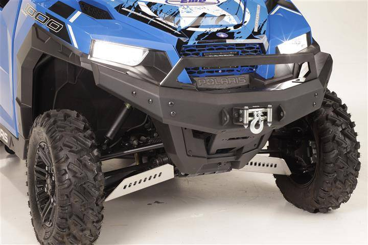 Polaris General 1000 >> Polaris General Front Brush Guard with Winch Mount