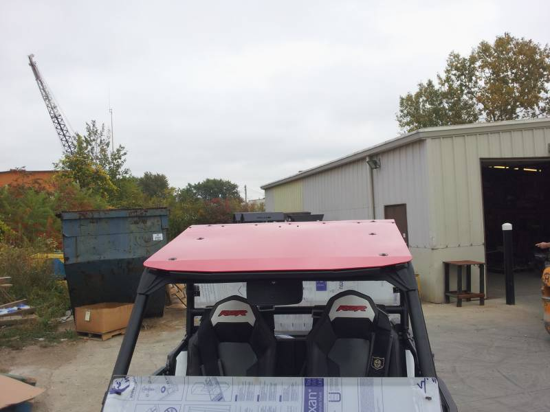 Rzr Xp1000 And Rzr 900 Aluminum Roof