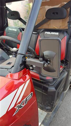 Polaris Ranger Smack Back Mirrors For Pro Fit Cages Set