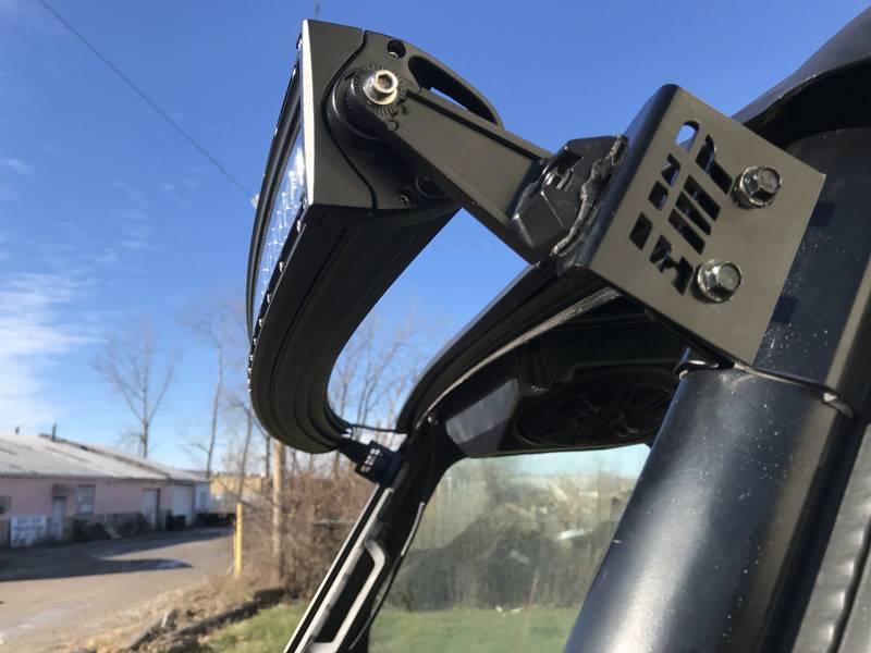 "Polaris Ranger 50"" LED Light Brackets for the PRO-FIT Cage."