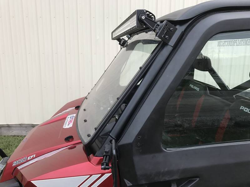 Polaris Ranger 50 Quot Led Light Brackets For The Pro Fit Cage