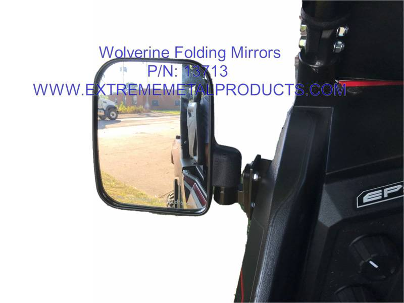 Yamaha Wolverine X2 X4 Folding Side Mirrors