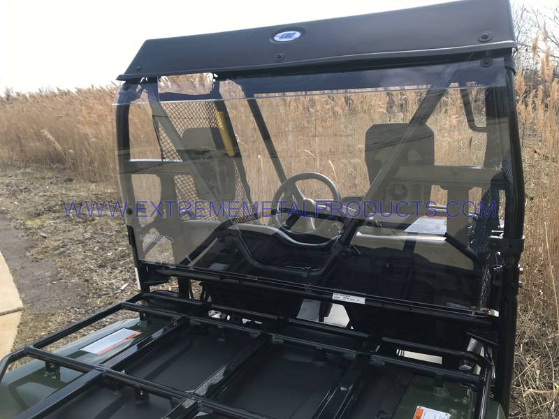 Pioneer 500 Roof Windshield Cab Back Combo