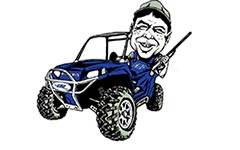 """""""Cooter Brown"""" - RZR Accesories"""
