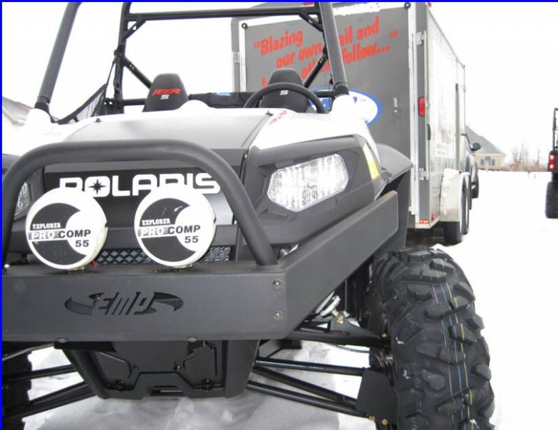 RZR Extreme Front Bumper / Brush Guard with Winch Mount on
