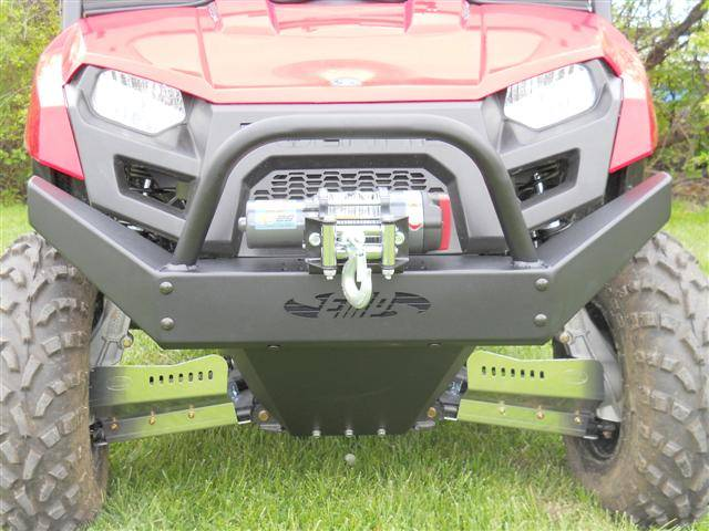 Mid-Size Ranger Extreme Front Bumper / Brush Guard with Winch Mount