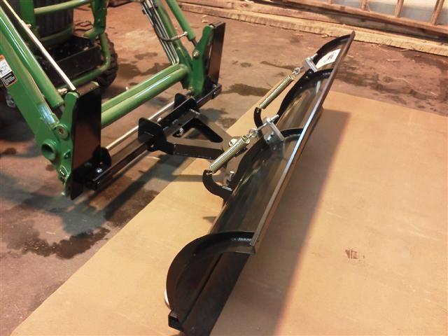 John Deere Gator Plow >> Quick Attach Plow for John Deere Front Loaders