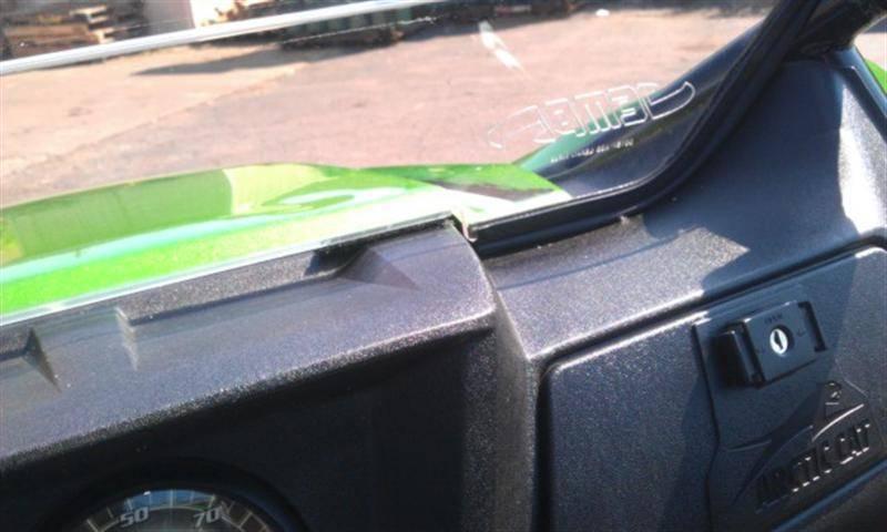 John Deere Gator >> Wildcat 1000 DOT Hard Coat Full Windshield