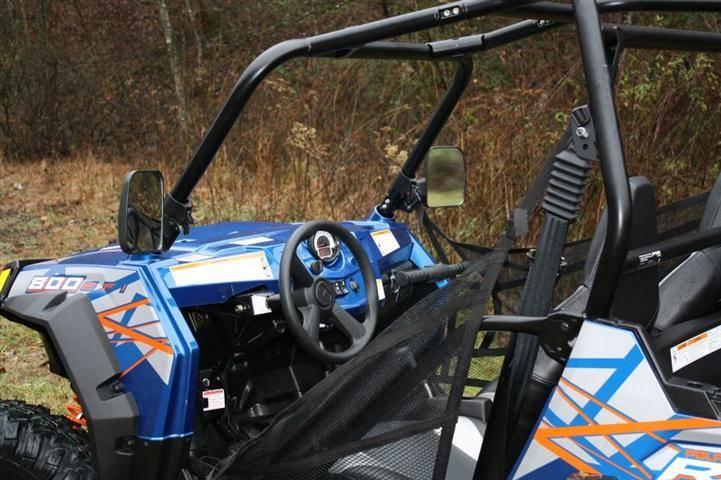 Polaris General 1000 >> Ranger and RZR Folding Mirror Set
