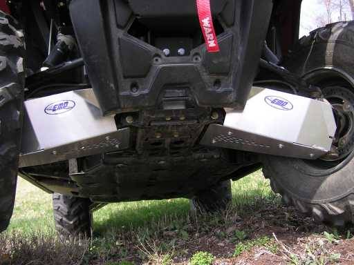 Polaris Ranger 570 Full Size >> RZR 570 Front CV Boot / A-Arm Guards - Aluminum