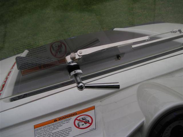 UTV Hand Operated Wiper and Bracket