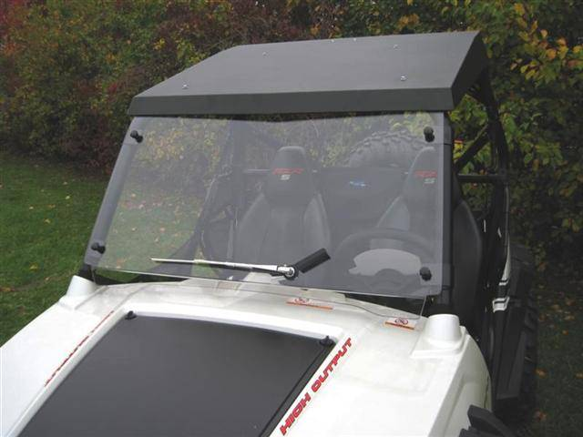 Rzr Hard Coat Quot Cooter Brown Quot Windshield
