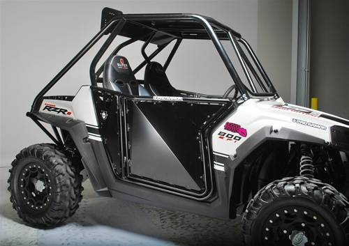 Extreme Metal Products Llc Rzr Proarmor Sheet Doors Black Without Cut Outs