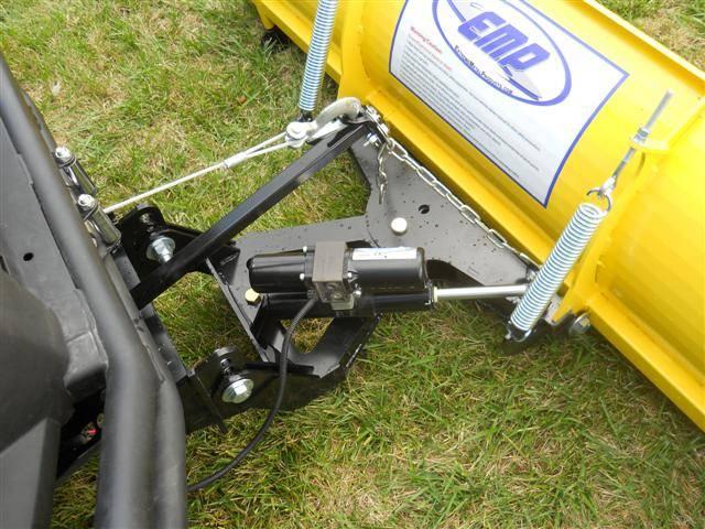 John Deere Gator Plow >> Snow Plow Power Angle Package