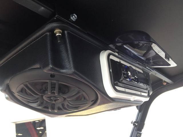Ranger Overhead Stereo Pod Fits Full Size Rangers With