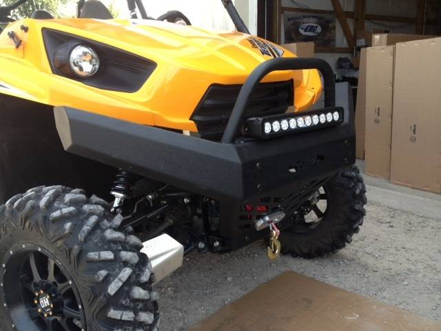 Teryx And Teryx4 Front Bumper Brush Guard With Winch Mount