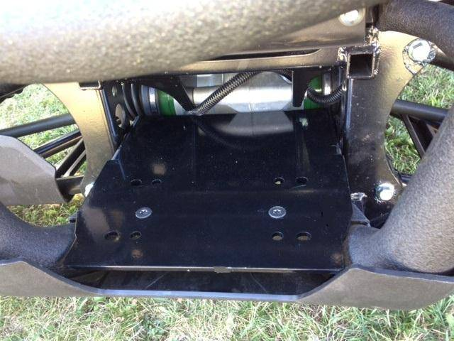 John Deere Gator >> Viking Winch Mount